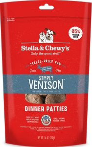 Stella & Chewy's Simply Venison Dinner Freeze Dried Patties