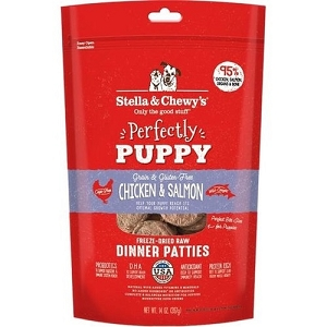 Stella & Chewy's Puppy Chicken & Salmon Dinner Puppy Freeze Dried Patties