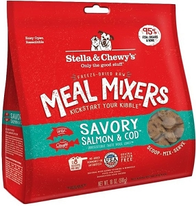 Stella & Chewy's Savoury Salmon & Cod Freeze Dried Meal Mixers