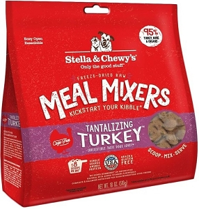 Stella & Chewy's Tantalizing Turkey Freeze Dried Meal Mixers