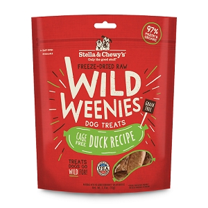 Stella & Chewy's Treats Weenies Duck