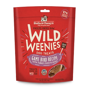 Stella & Chewy's Treats Weenies Game Bird