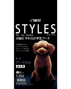 Sunrise Styles for Adult Toy Poodle Dry Dog Food