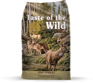Taste of the Wild Pine Forest Canine Recipe with Venison & Legumes Dry Dog Food