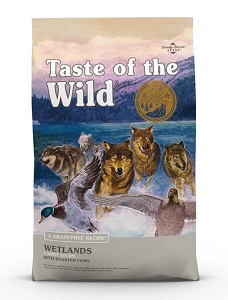Taste Of The Wild Wetlands Grain Free Dry Dog Food