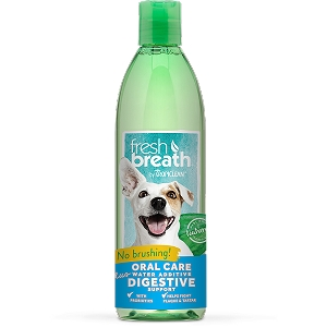 Tropiclean Fresh Breath Water Additive + Digestion