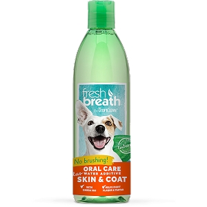 Tropiclean Fresh Breath Water Additive + Skin&Coat