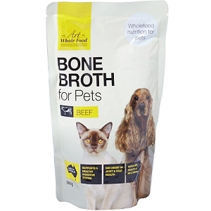 The Art of Whole Food Bone Broth for Pets Beef