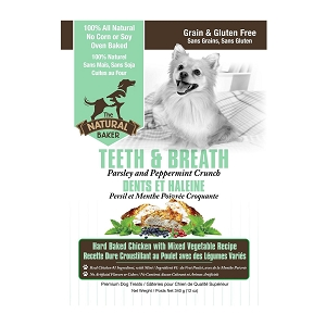 The Natural Baker Healthy Teeth & Breath 340gm