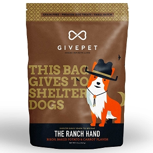 GivePet The Ranch Hand Grain Free Small Batch Cookie Treats