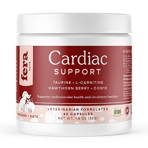 Fera Pet Organics Cardiac Support for Dogs & Cats (60 capsules)