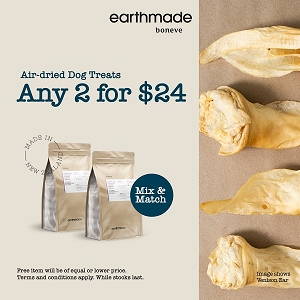 [PROMO till 30th June - 2 For $24] Earthmade Air Dried Treats