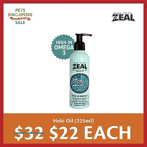 [PETS SINGAPORE SALE 2021 - $22 EACH] Zeal Pure Natural New Zealand Hoki Fish Oil Supplement
