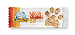 Yeti Dog Treat Cheesy Granola Bar