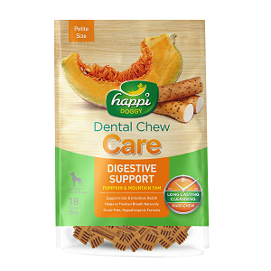 Happi Doggy Hard Dental Chew Care Digestive Support