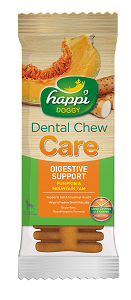Happi Doggy - HARD Dental Chew Care - Digestive Support 4inch (50pcs/box)