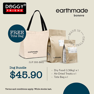 [MAY 2021 PROMO] Earthmade Dog Bundle Pack with Tote Bag
