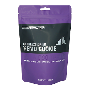 Freeze Dry Australia Freezed Dried Emu Cookie