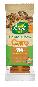 Happi Doggy - HARD Dental Chew Care - Immune Support 4inch (50pcs/box)