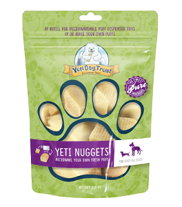 Yeti Dog Treat Nuggets (6-8 pieces)