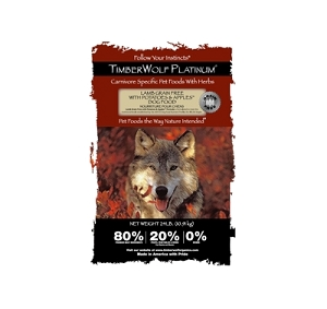 TimberWolf Platinum Grain Free Lamb, Potatoes & Apples Dry Dog Food