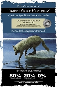 TimberWolf Platinum Ocean Blue Whitefish Dry Dog Food