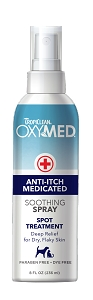 TropiClean OxyMed Anti-Itch Medicated Spray