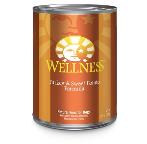 Wellness Complete Health, Turkey & Sweet Potato Formula, Canned Dog Food