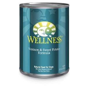 Wellness Complete Health, New Zealand Venison & Sweet Potato Formula, Canned Dog Food