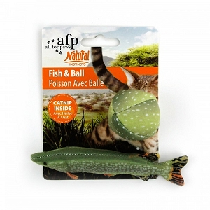 ALL FOR PAWS Natural Instincts Fish & Ball