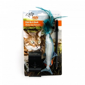 ALL FOR PAWS Natural Instincts Fish Hanger
