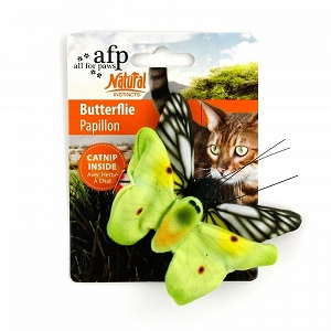 ALL FOR PAWS Natural Instincts Butterflies 2pk