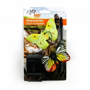 ALL FOR PAWS Natural Instincts Butterflies Hanger 2pk