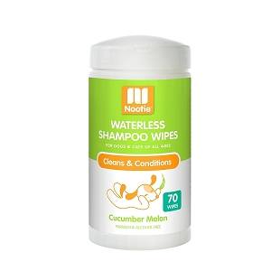 Nootie Waterless Shampoo Wipes for Dogs and Cats 70wipes