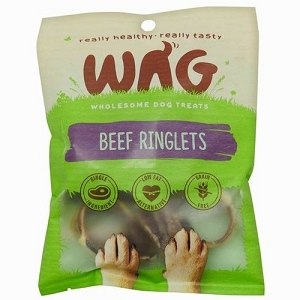 WAG Beef Ringlets Dog Treats