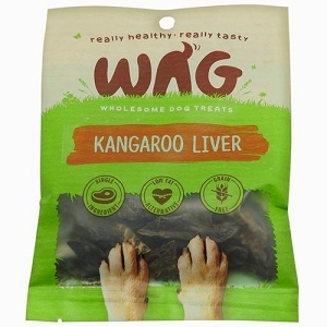 WAG Kangaroo Liver Dog Treats