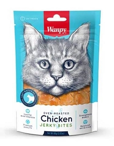 Wanpy Oven-Roasted Chicken Bites Cat Treats