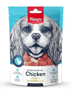 Wanpy Oven-Roasted Chicken Dumbbells Dog Treats