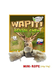 Wapiti Antler Mini-Rope Dental Chew