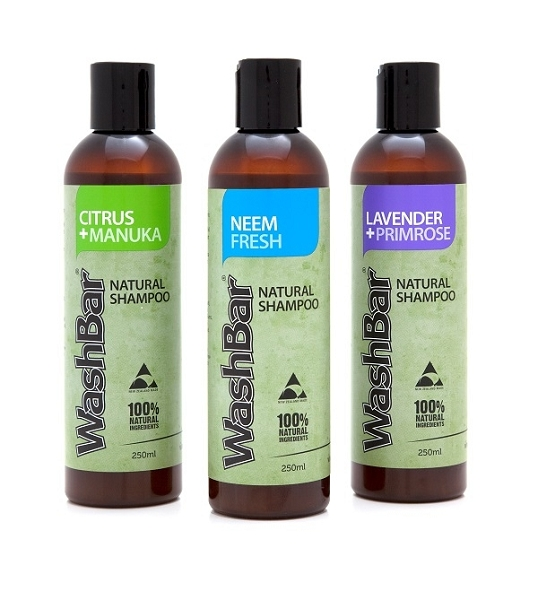 WashBar 100% Natural Shampoo