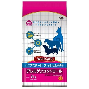 Well Care Fish With Potato Senior Dry Dog Food