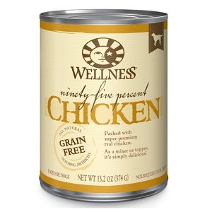 Wellness 95% Canned Chicken Mixer or Topper