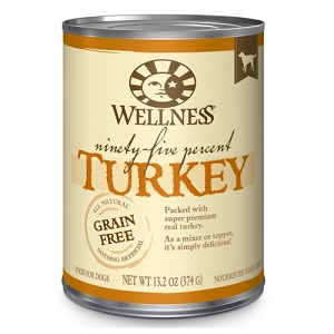 Wellness 95% Canned Turkey Mixer or Topper