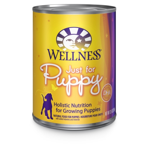 Wellness Complete Health Just for Puppy Formula Canned Dog Food