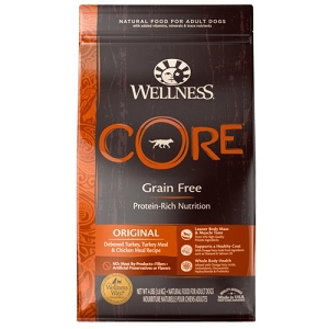 [UP TO 30% OFF w/ FREE DENTAL KIT for Large bag] Wellness Core Original Dry Dog Food