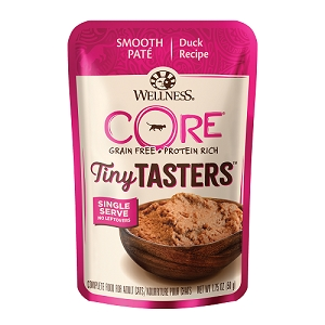 Wellness CORE Tiny Tasters Duck Pate Grain-Free Cat Food Pouch