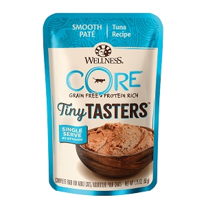 Wellness CORE Tiny Tasters Tuna Pate Grain-Free Cat Food Pouch