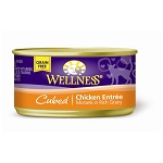 Wellness Canned Cat Cube Chicken Entree