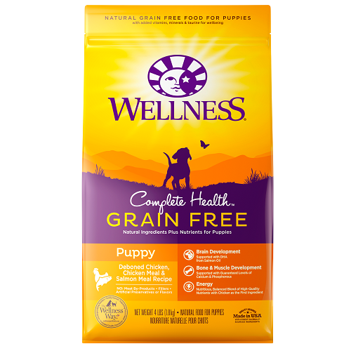 [UP TO 30% OFF w/ FREE DENTAL KIT for Large bag] Wellness Grain Free Puppy