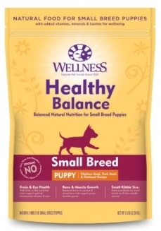 [UP TO 30% OFF w/ FREE TREATS for Large bag] Wellness Healthy Balance Small Breed Puppy
